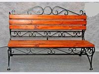 скамейка со спнкой